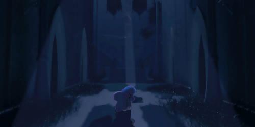 Luna's Determination, test look shot 3 by MintyRoot