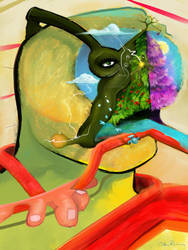 Conscious Machines Enjoy Tange