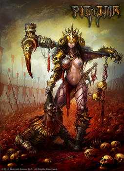 Pit of War - Female War Gladiator
