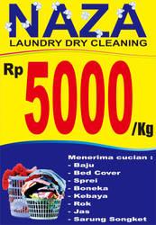 Naza Laundry Banner