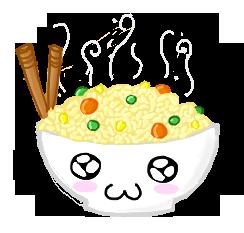 Kawaii Fried Rice By Doomsdaydreamer On Deviantart