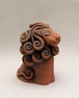 Caramel  Lion by vavaleff