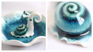 Turquoise Snail