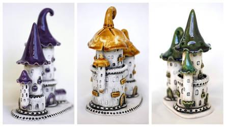 Castles of tiny fairies
