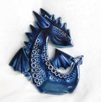 Blue Dragon - Wall picture