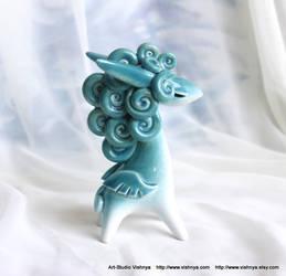 Magical Turquoise Pegasus