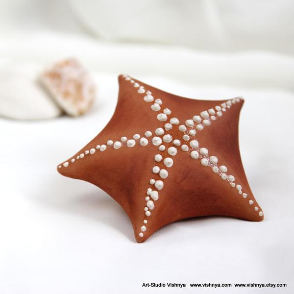 Ceramic Textured Starfish by vavaleff