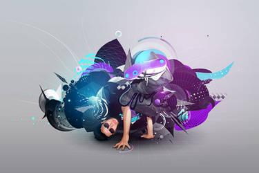 Break dance through - CMS app by Lianman