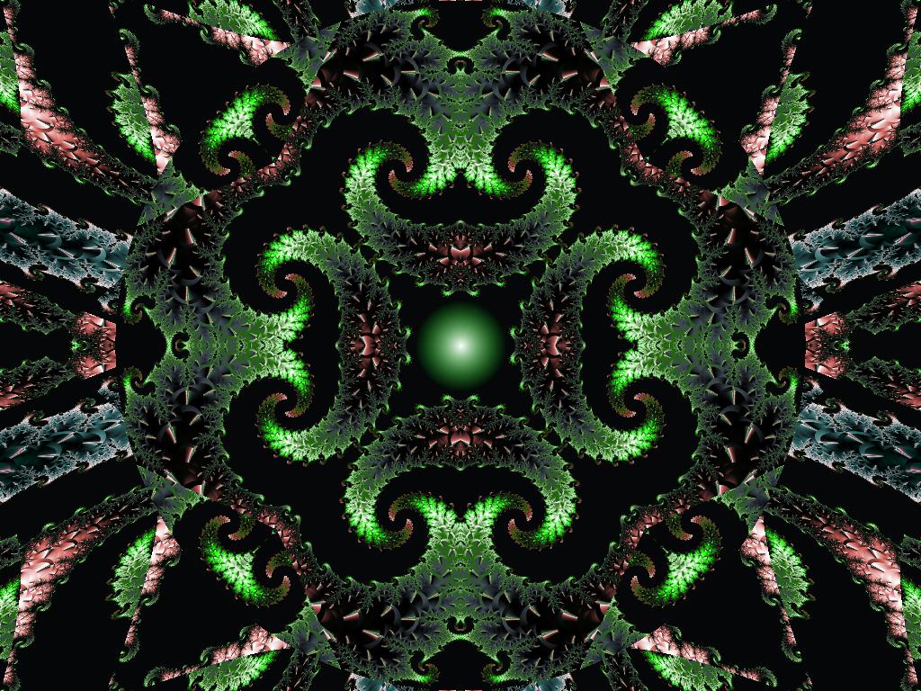 Green night by maya49m