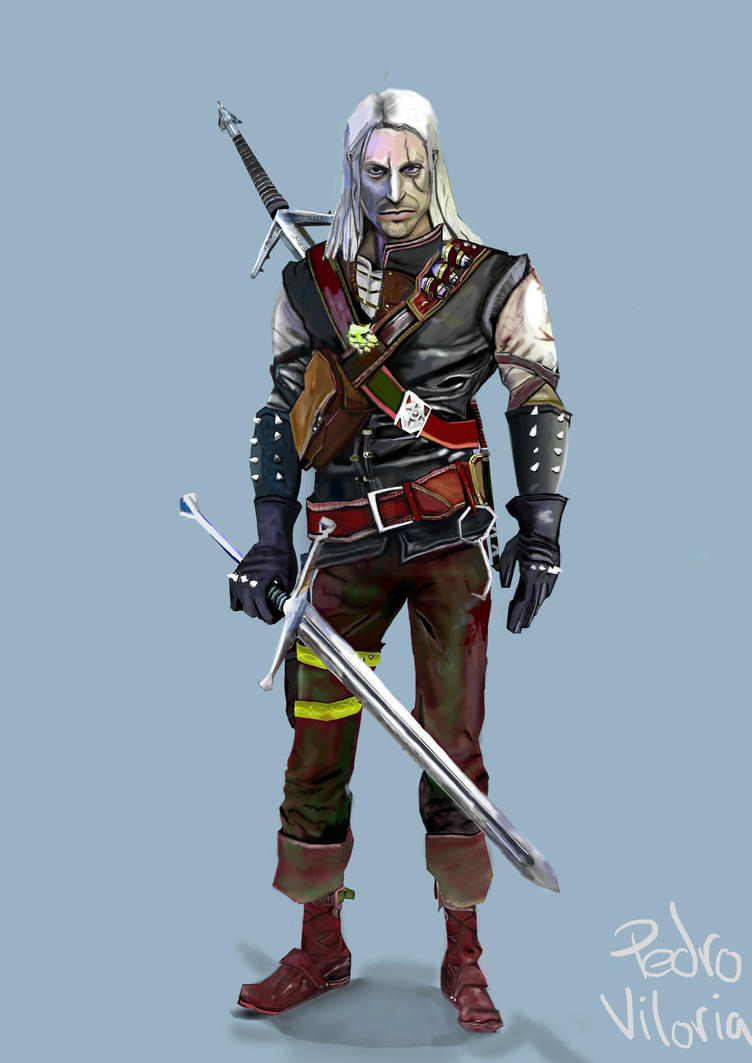 witcher geralt of - photo #14