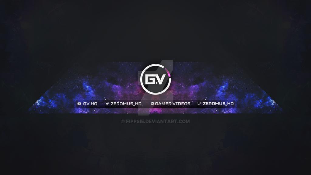 youtube header for gamer videos v1 by fippsie on deviantart