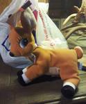 Rudolph 1998 Zoey Plush