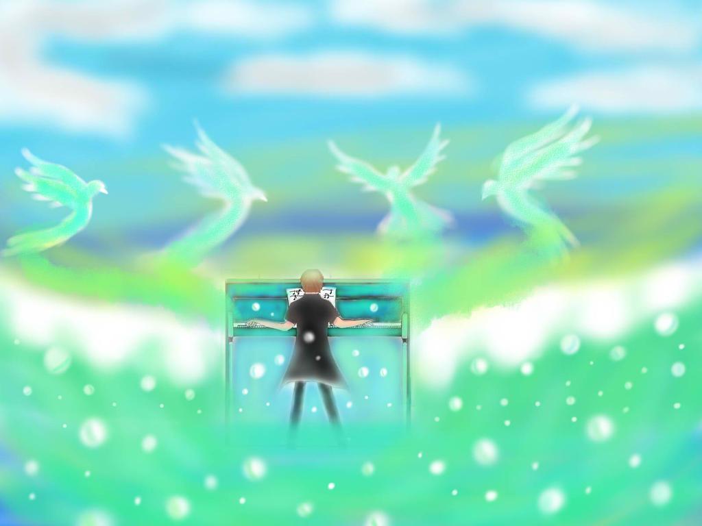 ...Piano...dream... by EricLeo666