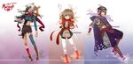 [Custom] Original Species: Moiraiga Custom Set by mayoujii