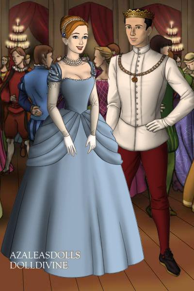 Tudor Disney Couples Prince and Cinderella by SerenDippityDooDah