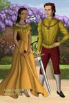 Tudor Disney Couples Pocahontas and John Rolfe