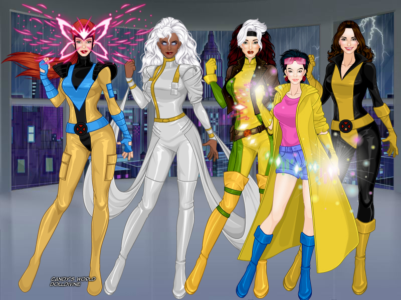 X Men Girl The Women of X-Men by ...