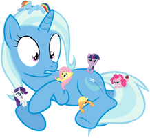 Giant Trixie by davidatlas