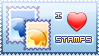 I Love Stamps by MajinPat