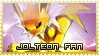 Jolteon Stamp by MajinPat