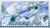 Glaceon Stamp by MajinPat