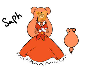 Orange Sapphire by Doodle-Trash