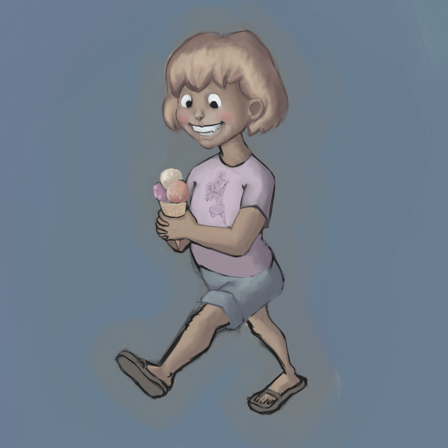 Ice Cream Girl by CharlieSteer