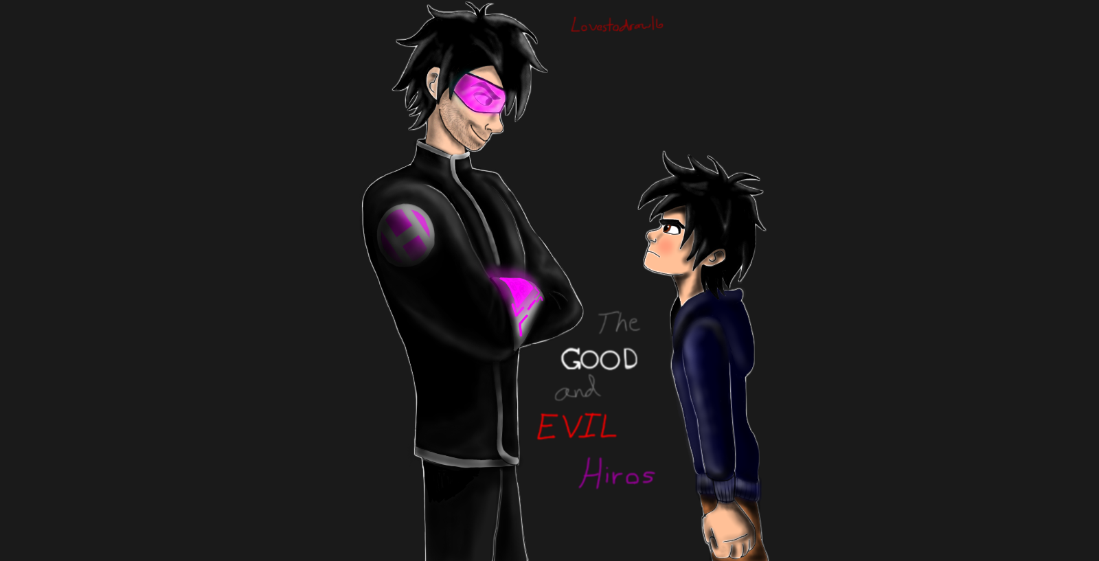 The Good and Evil Hiros :fanfiction story cover by ...