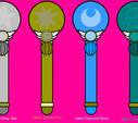 Light Senshi Henshin pens by SailorStarMiracle