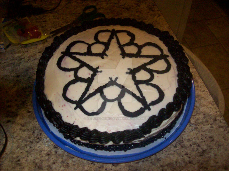 BVB Sweet 16 Cake by SailorStarMiracle