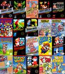Mario's Nintendo Games