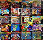 Mario's Super Nintendo Games