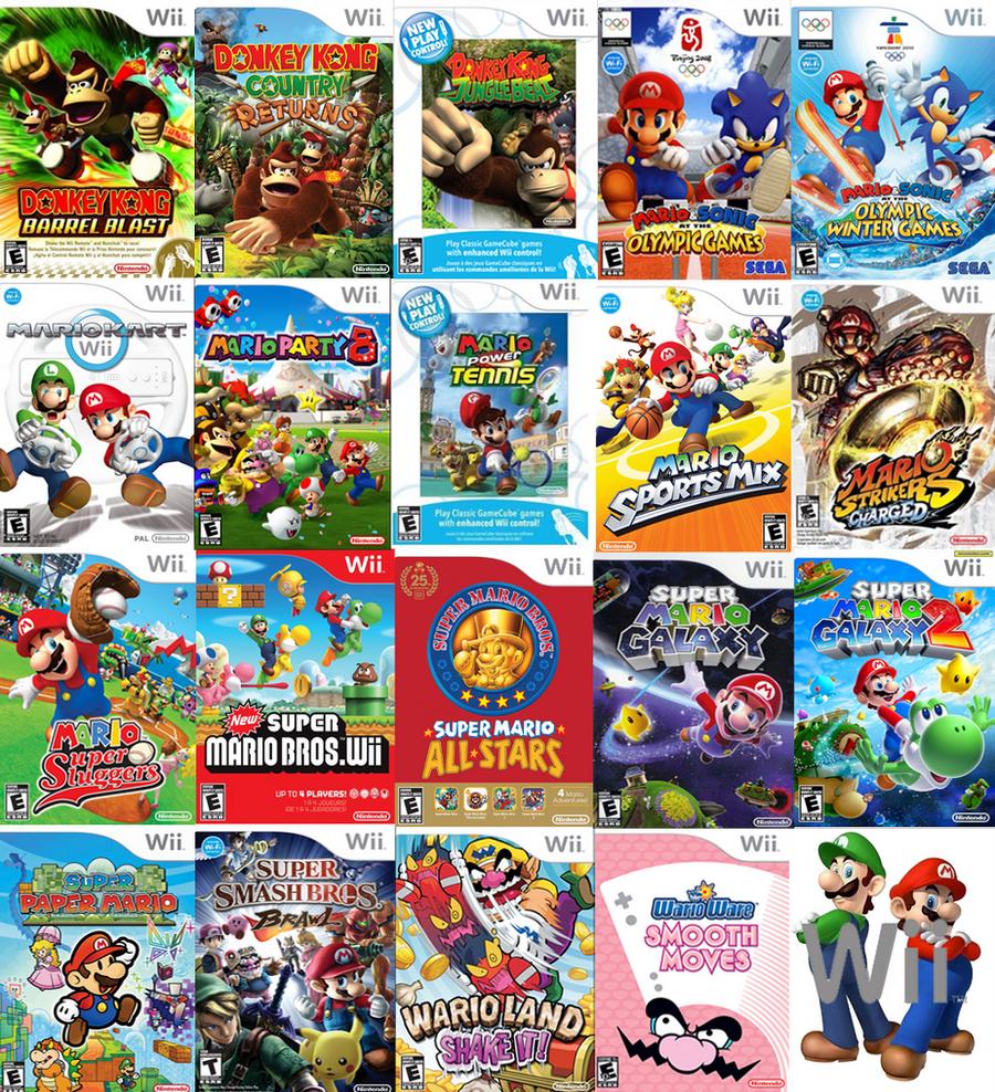 mario s wii games by sonictoast fan art wallpaper games 2009 2015