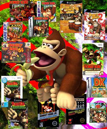 Donkey Kong's Games