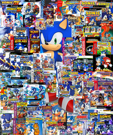 sonic games free only