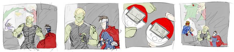 not superhero behavior by ormery