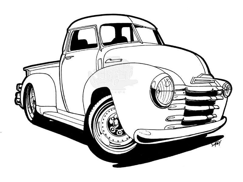 Another 50s Chevy Pickup By Scottie32 On Deviantart