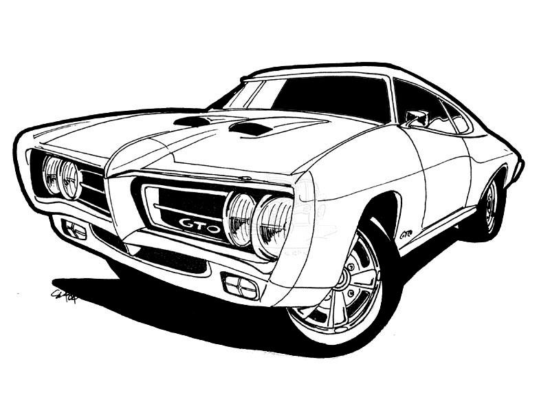 list of synonyms and antonyms of the word  1969 gto drawings