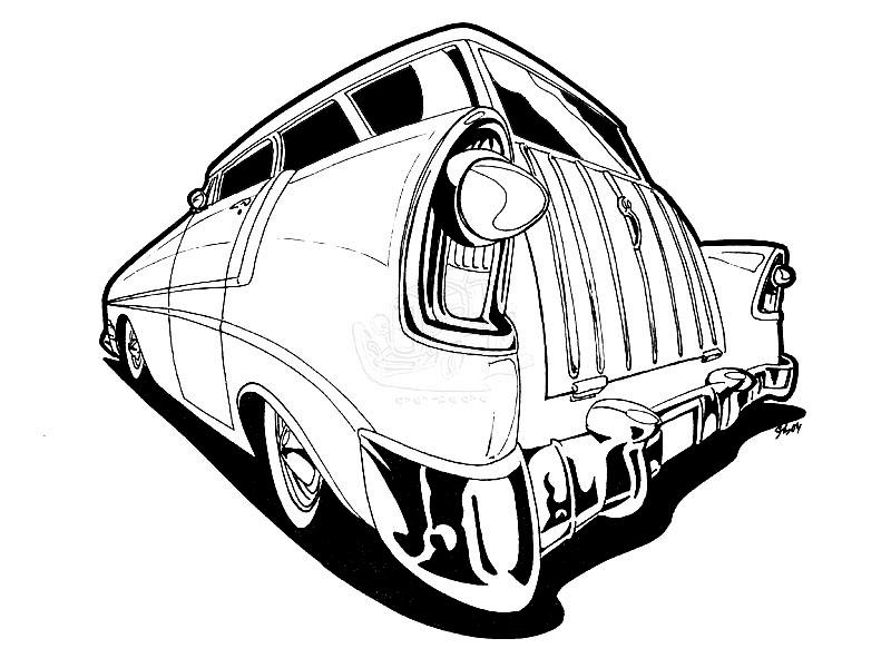 6sujl Chevy Impala Replace Stock Steering Wheel Horn further Showthread furthermore Gm Body Parts additionally Automotive Clip Art further Showthread. on 55 bel air