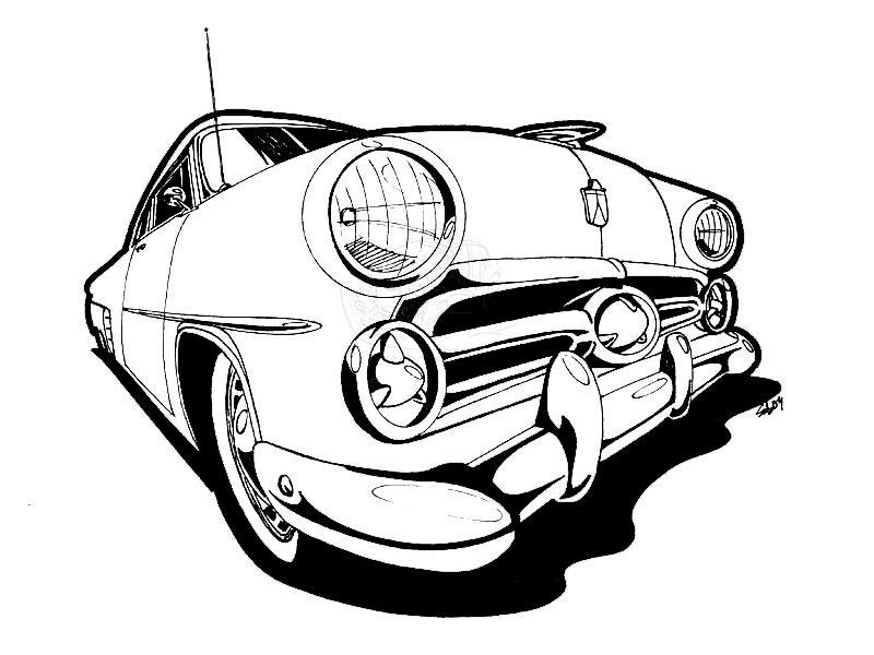 u0026 39 52 ford crown vic by scottie32 on deviantart