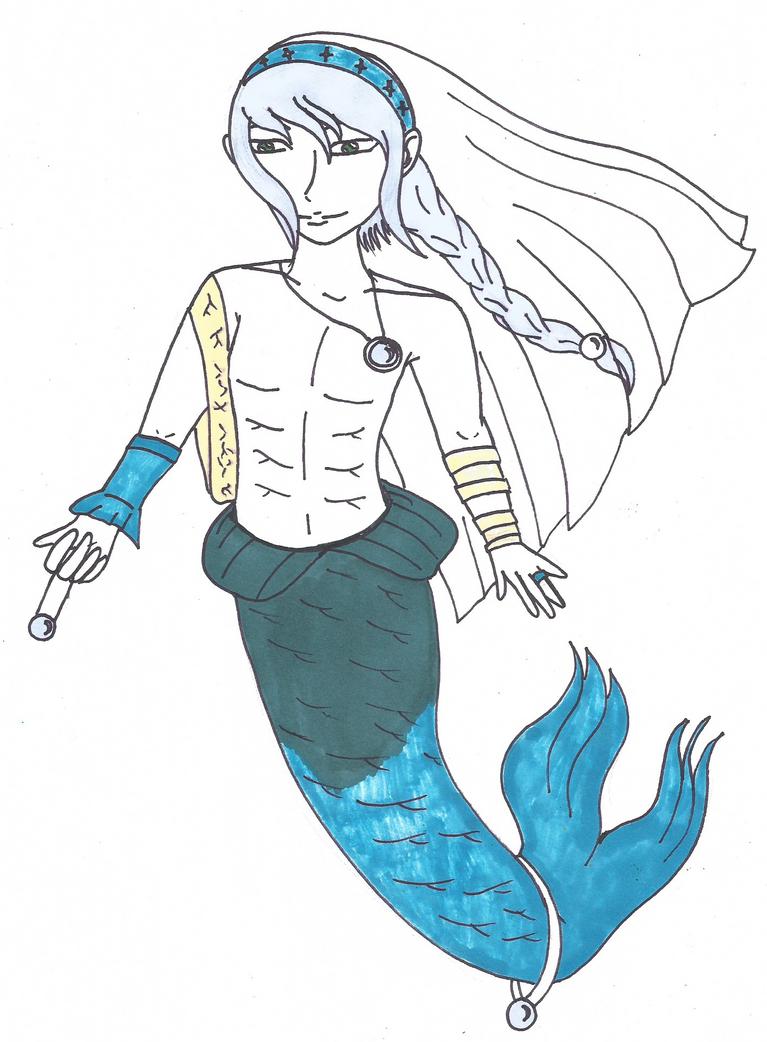 Mermaid Adoptable #3 (CLOSED) by Akumuxyume