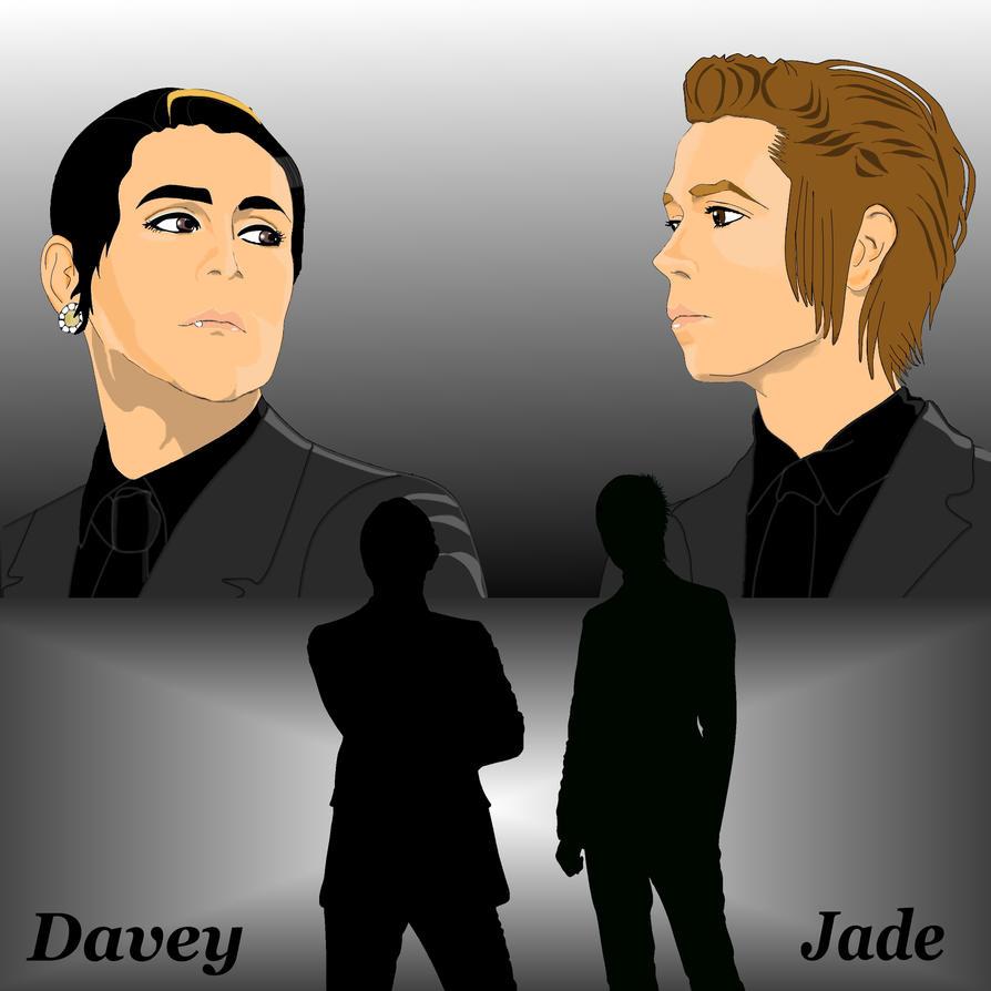 Blaqk Audio Davey And Jade By Naochelsea On Deviantart