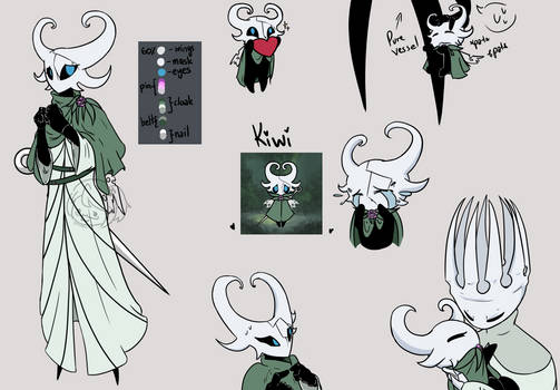 [Art Ref - Hollow Knight] Kira
