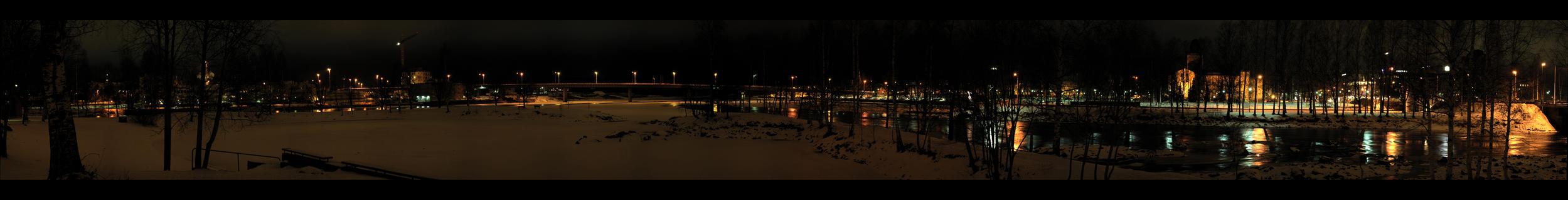 City Lights Panorama by DeviantPunisher