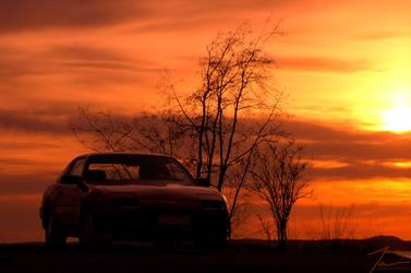 Nissan 300ZX by DeviantPunisher