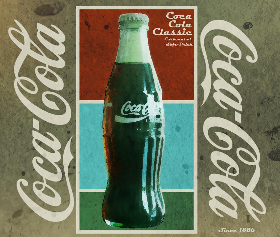 coca cola retro ad by thebomblu on deviantart. Black Bedroom Furniture Sets. Home Design Ideas