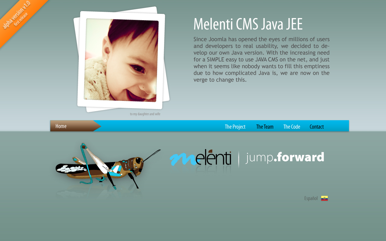 Melenti java Opensource CMS by melenti