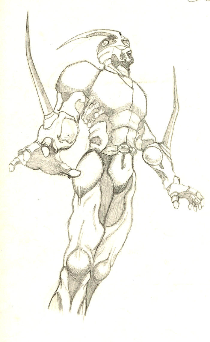 Guyver manga by 7BlackJack8