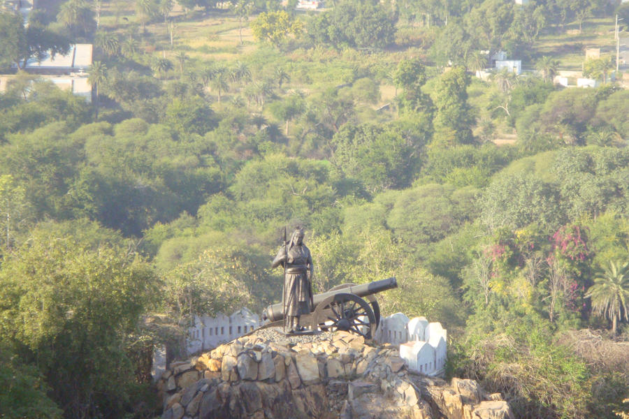 Statue of Maharana Pratap by fabregasrox323 on DeviantArt