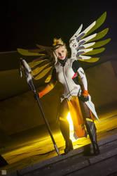 Mercy from Overwatch by Calypsen by Calypsen